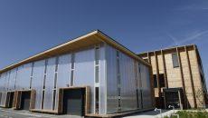 En cohérence avec le projet, le bâtiment de l'Ecopépinière, à ossature bois, est certifié HQE.