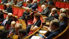 Gilles Carrez lors de l'examen du projet de loi de finances pour 2017 à l'Assemblée nationale. © Jgp