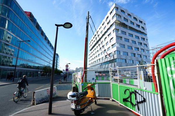 Be Open, nouveau siège de la MGP, conçu et imaginé par le cabinet d'architecture Brenac et Gonzalez. ©Jgp