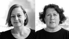 Christiane Blancot, responsable du pôle évolutions urbaines, et Stéphanie Jankel, chargée d'études