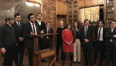 Les créateurs de Monpostulant.fr reçoivent le prix étudiant 2016, le 26 janvier 2017.