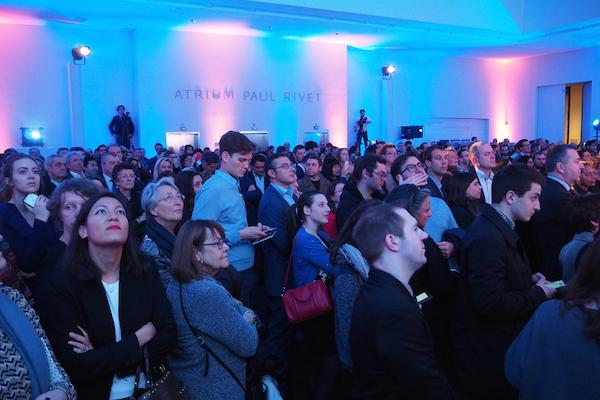 L'atrium Paul Rivet, du nom du fondateur du musée de l'Homme, faisait salle comble pour la soirée d'Expo France2025. ©Jgp
