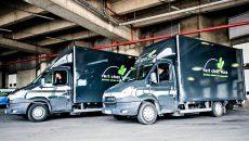 Les véhicules électriques et GNV de Vert chez vous pourront désormais livrer à partir de la plateforme Sogaris de Rungis. © DR