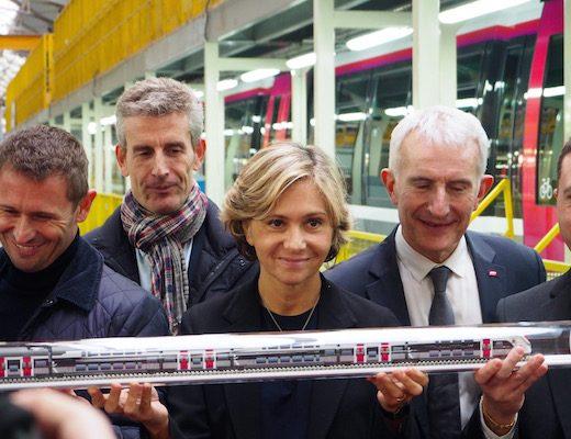 Dans le Nord, Valérie Pécresse passe commande de 100 nouvelles rames