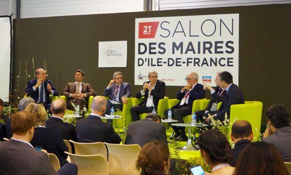 Les représentants des candidats à la présidentielle lors du débat animé par Jacques Paquier, rédacteur en chef du Journal du Grand Paris.