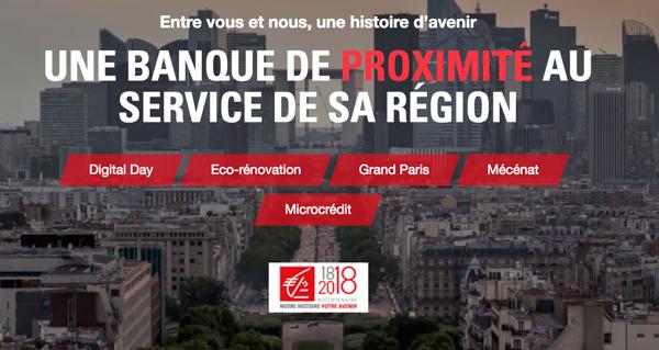 Nouveau Site Pour La Caisse D Epargne Ile De France