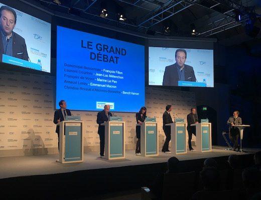 Les candidats à la présidentielle se penchent sur le Grand Paris express et le diesel