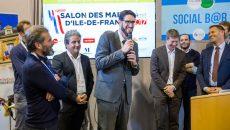Tributerre reçoit le premier prix lors du Salon de maires d'Ile-de-France