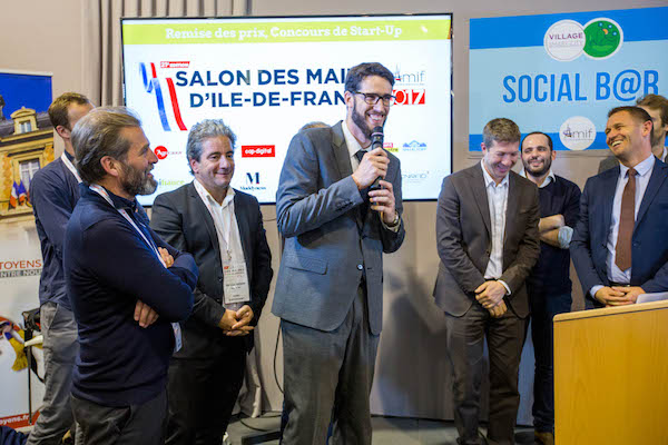 Les start up de la ville de demain l honneur au salon de for Salon amif 2017
