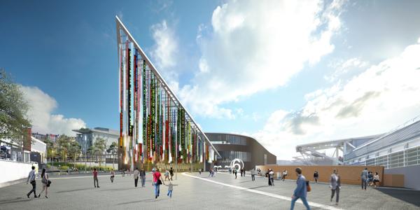 Parc des expos de la porte de versailles la phase 1 s 39 ach ve - Parking f parc des expositions porte de versailles ...