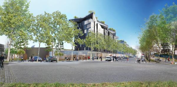 Parc des expos de la porte de versailles la phase 1 s 39 ach ve for Plan parc des expositions porte de versailles