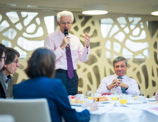 CCIR: Didier Kling salue un air de reprise économique