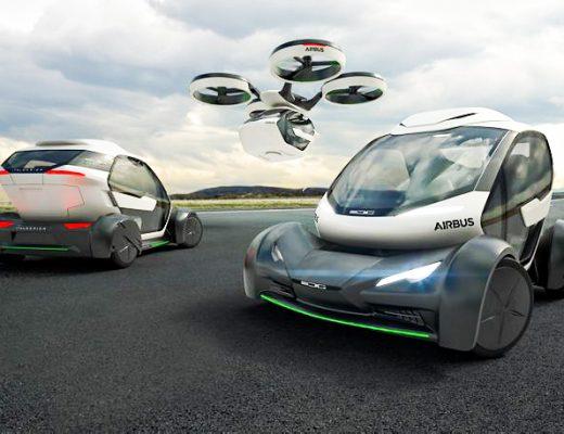 La voiture volante star du Paris air show