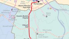 Ligne 14 sud