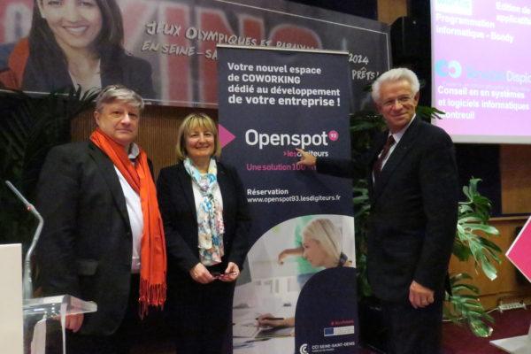 La CCI Seine Saint Denis Inaugure OpenSpot 93 U2013 Les Digiteurs