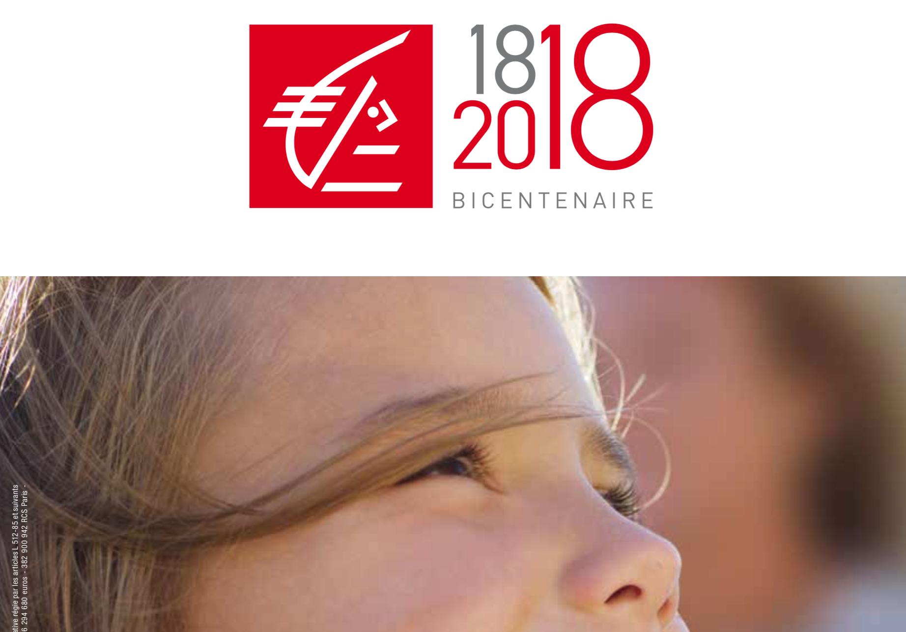 1818 2018 La Caisse D Epargne Fete Son Bicentenaire