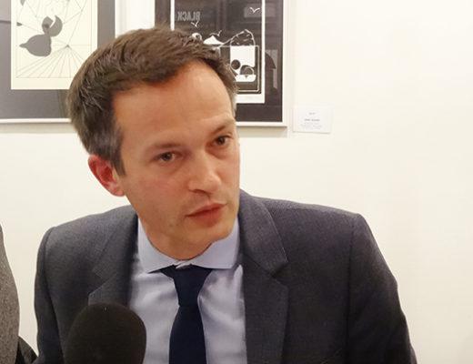 Municipales : le candidat Bournazel présente sa vision pour Paris
