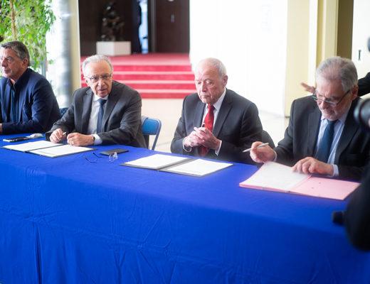 Assainissement: territoires et département du Val-de-Marne affichent leur union