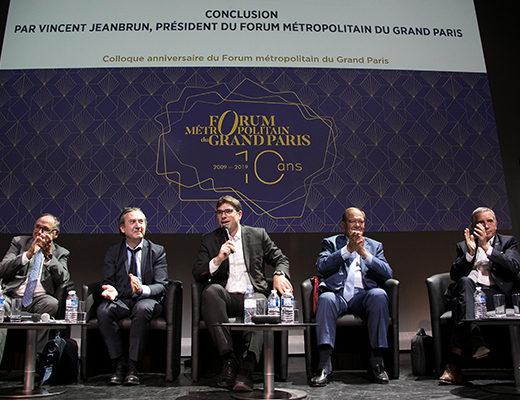 Le Forum métropolitain du Grand Paris fête ses 10 ans