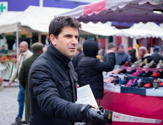 En campagne avec… Mathieu Hanotin