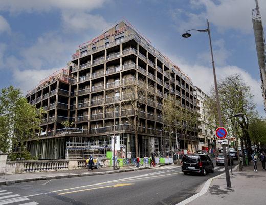 7 rue Tolbiac: les failles généreuses d'un immeuble mixte d'Emerige